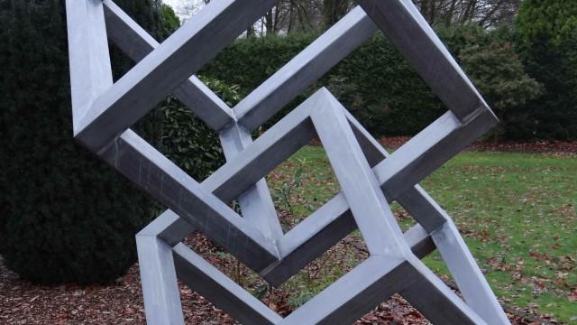 Kubusvormige sculpturen