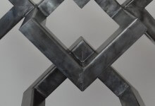 Hexagon vijf sculpture