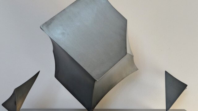 Imploded Cube