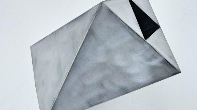 Twisted irregular hexahedron